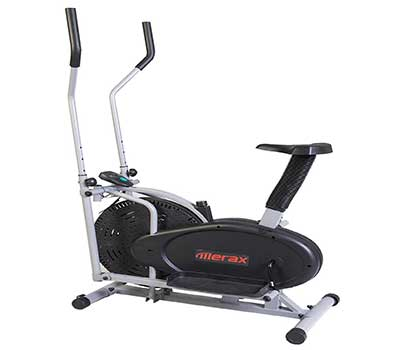 Merax Elliptical Exercise Bike Fitness Machine Cardio Training