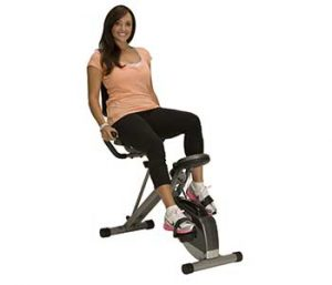 Recumbent Stationary Exercise Bikes