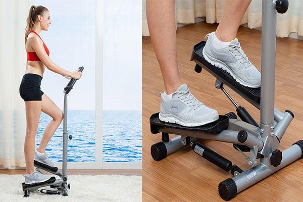 Sunny Health Amp Fitness Twister Stepper
