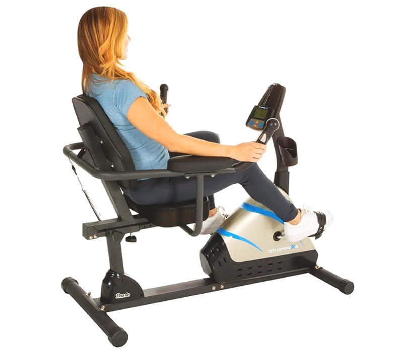Exerpeutic-2000-High-Capacity-Programmable-Magnetic-Recumbent-Bike