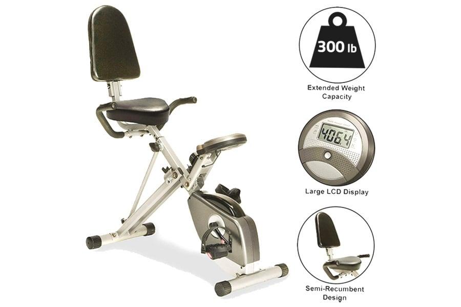 Exerpeutic-400XL-Folding-Recumbent-Bike