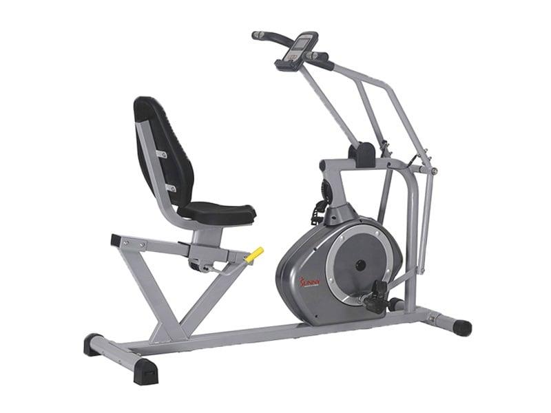 Sunny-Health-&-Fitness-Magnetic-Recumbent-Bike-Exercise-Bike,-350lb