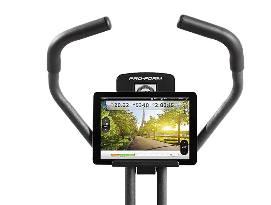 Proform duo exercise bike console