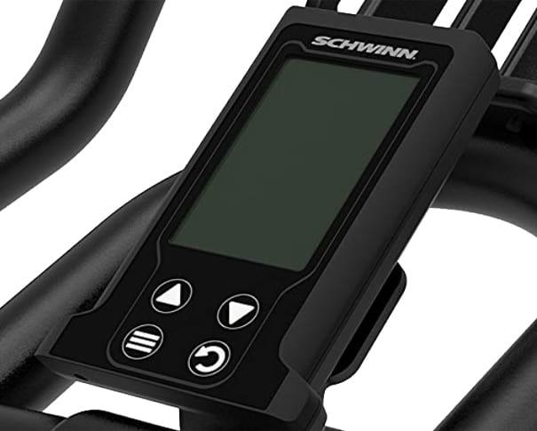 Schwinn spin bike console