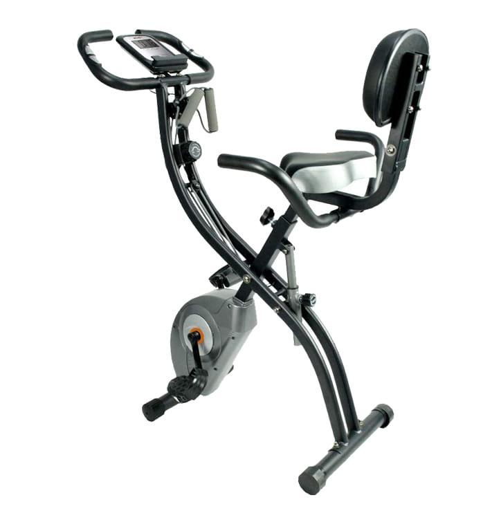 ATIVAFIT stationary folding exercise bike