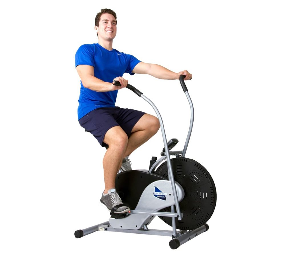 Body Rider Fan Stationary Exercise Bike