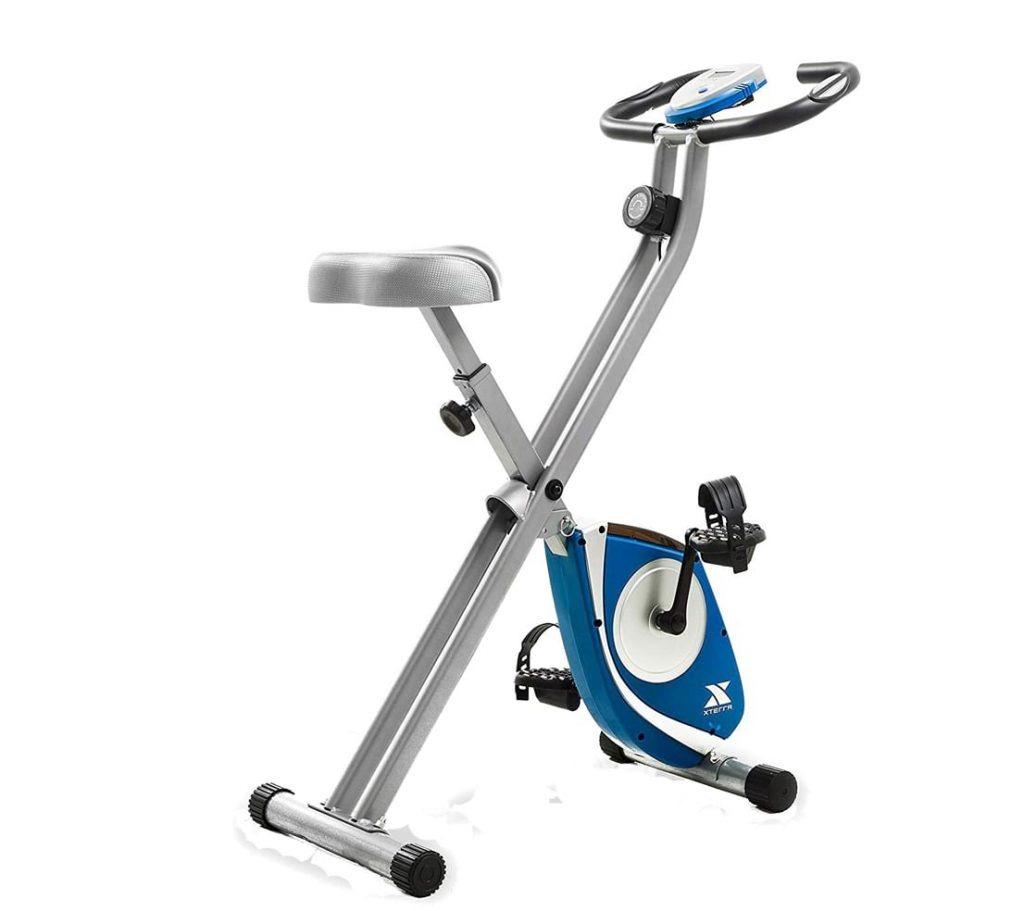 FB150 folding upright exercise bike