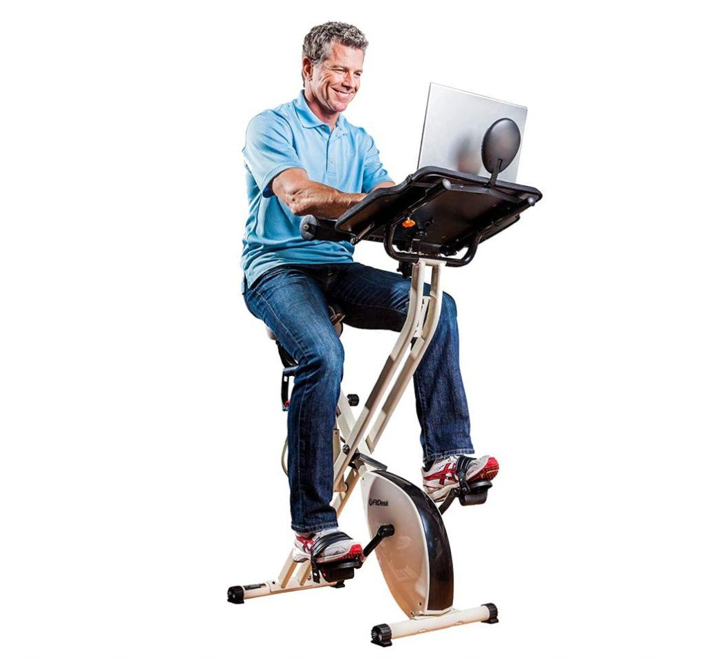 FitDesk 2.0 desk exercise bike & office workstation