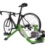 Kinetic indoor bike trainer