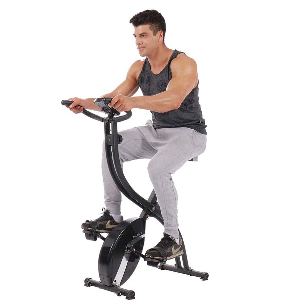 Pleny Upright Stationary Exercise Bike