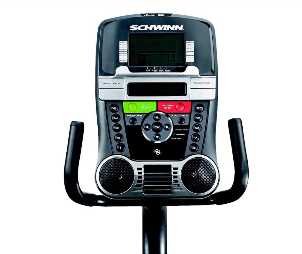 Schwinn 230 recumbent exercise bike console