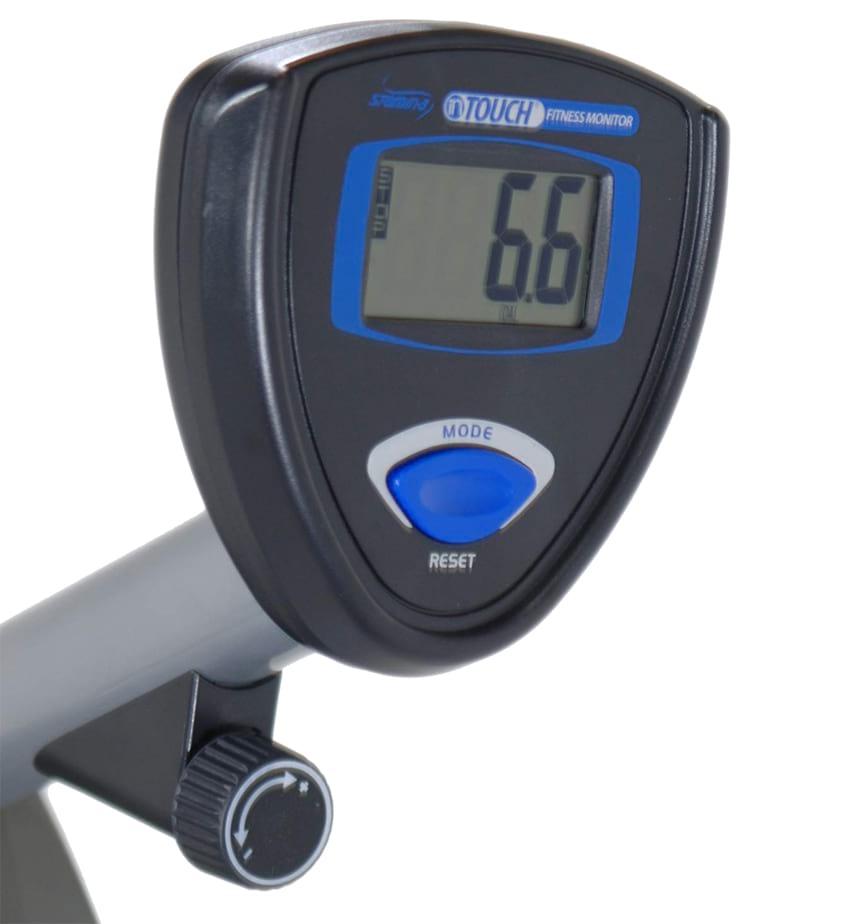 Stamina 1350 Magnetic Resistance Recumbent Bike console