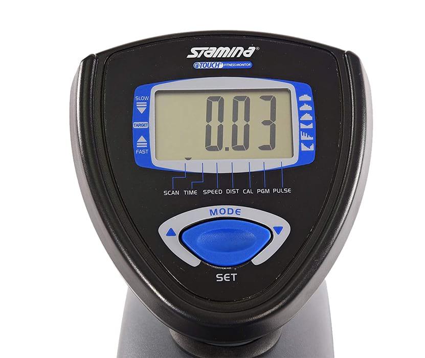 Stamina 15-4831 magnetic recumbent exercise bike console