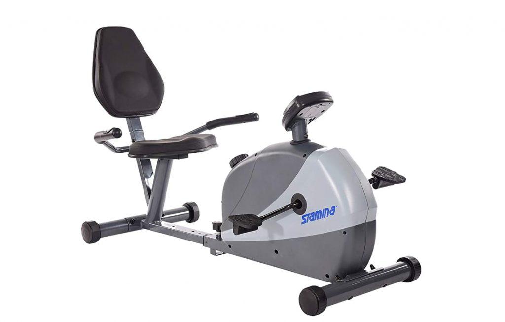 Stamina 15-4831 magnetic recumbent exercise bike review
