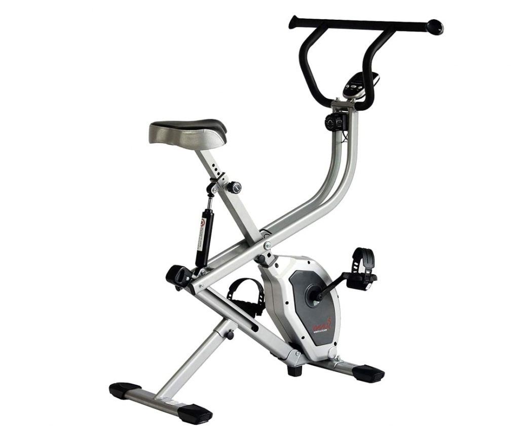 Sunny Health & Fitness 2-in-1 Exercise Bike