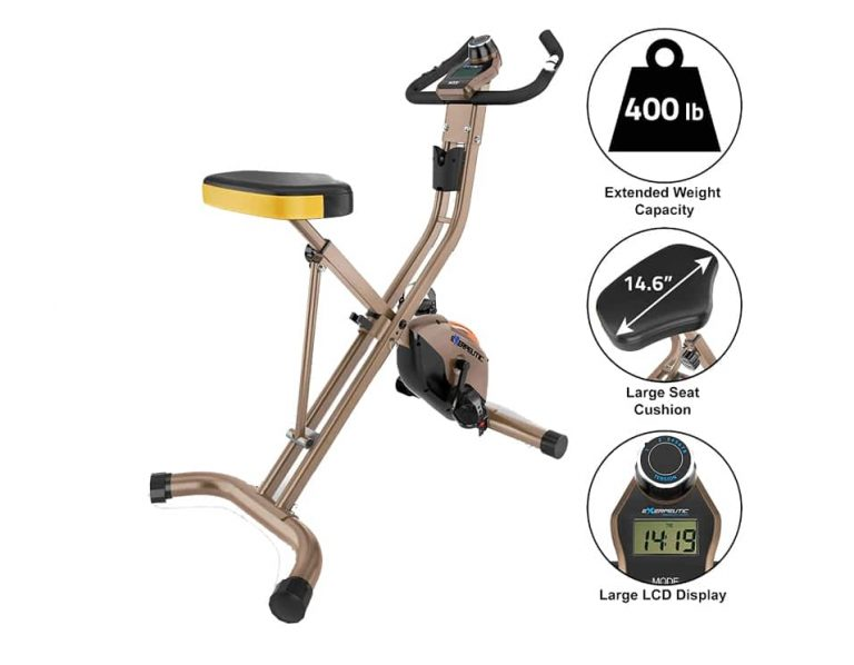 Exerpeutic Gold Foldable Exercise Bike (4.4, 177)