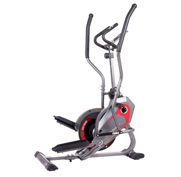 Body Power BST800 2 in 1 elliptical stepper trainer