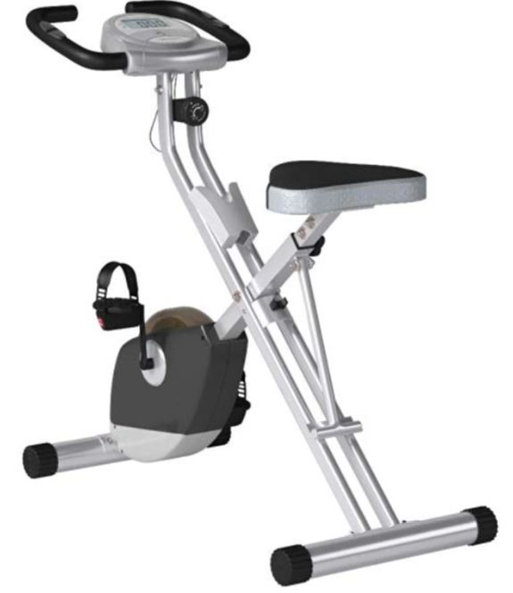 Exerpeutic 1200 folding upright stationary exercise bike