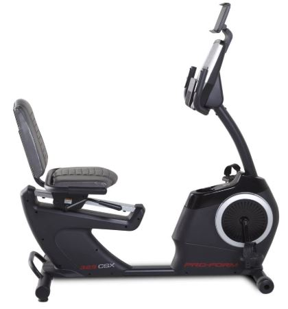 Proform 325 csx recumbent bike review