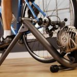 Fluid indoor bike trainer