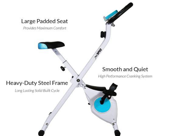 Foldable stationary bike reviews