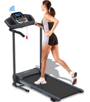 SereneLife Electric Folding Treadmill
