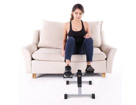 Hausse portable folding exercise peddler